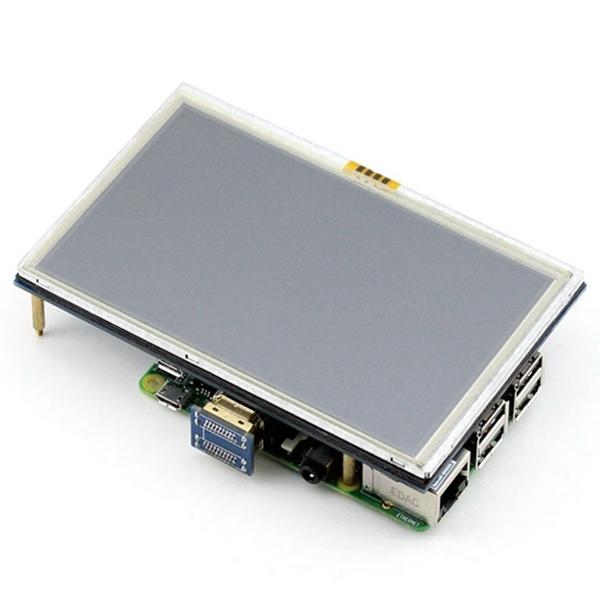 5 дюймов ЖК-дисплей с сенсорным экраном TFT ЖК - панель модуль 800*480 для Banana Pi Raspberry Pi 2 Raspberry 3 модель B / B+