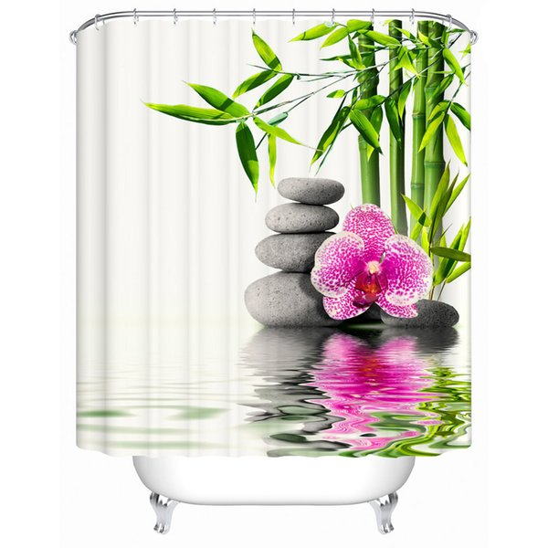 Chinese style Shower Curtains Bathroom Curtain Quality Practical Household Items Waterproof Shower Curtain Y-017 C18112201