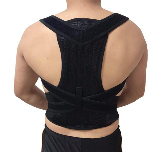 Magnetic Therapy Back Support Posture Corrector Belt Breathable Adjustable Shoulder Support Back Brace Belt Corrector De Postura #70554
