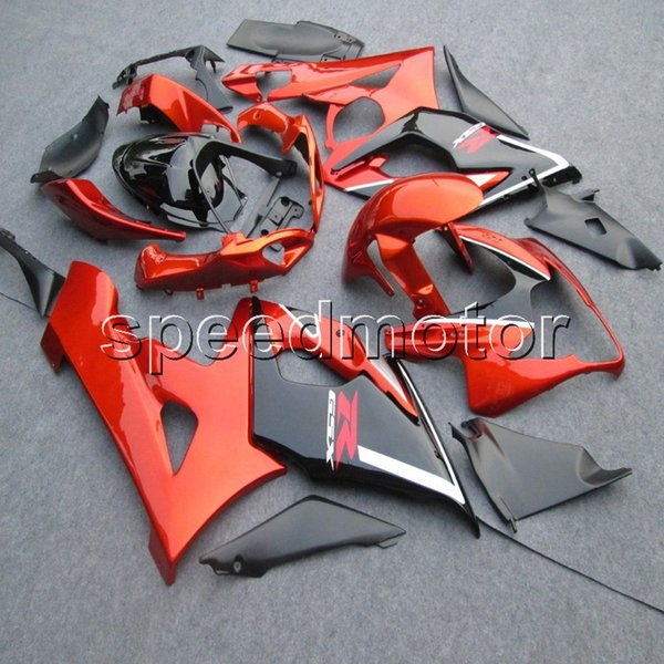 Screws+Gifts Injection mold orange motorcycle cowl Fairing for Suzuki GSX-R 1000 05 06 GSXR1000 2005 2006 K5 ABS plastic kit