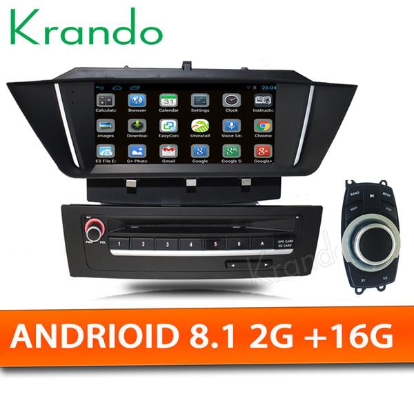 "Krando Android 8.1 7"" car DVD radio player GPS for BMW X1 E84 2009-2013 radio stereo audio navigation system WIFI Bluetooth"