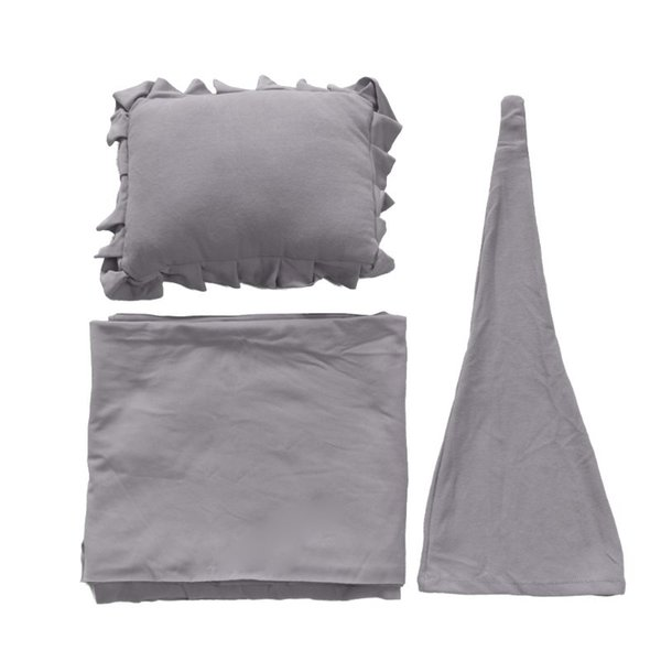3Pcs / Set Neonato Prop Prop Sleepy Cap + Wrap + Pillow Set Studio fotografico Accessori 19QF