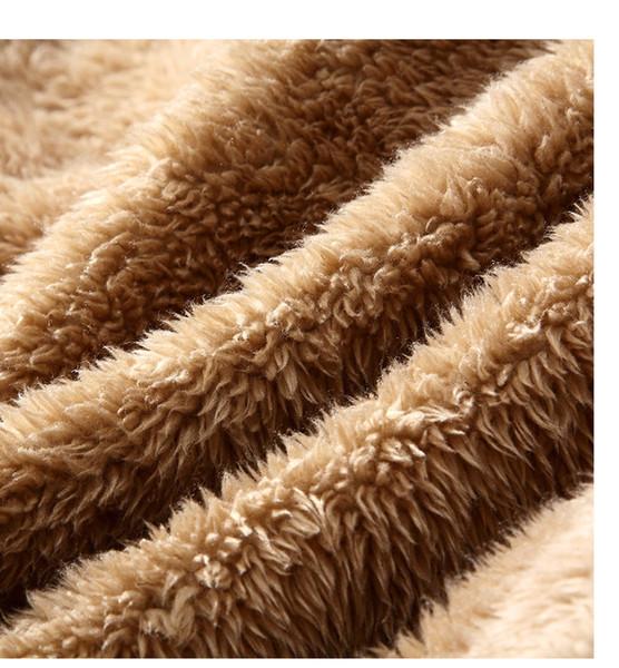 Veste en cuir pour hommes Européen et Américain, plus veste en cuir chaud en velours lavé vestes en cuir de designer pour hommes
