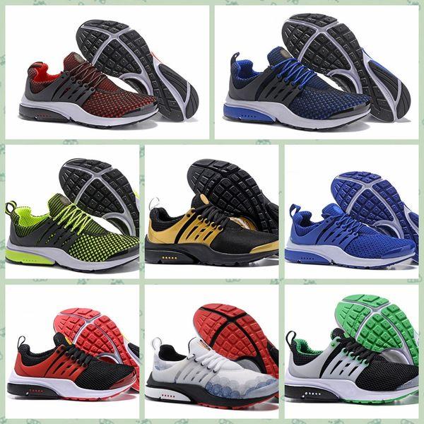 Nike Pristo Melhor Qualidade Prestoss 5 V Tênis De Corrida Das Mulheres Dos Homens 2018 Prestos Ultra BR QS Amarelo Rosa Preto Oreo Esportes Ao Ar Livre Moda Jogging
