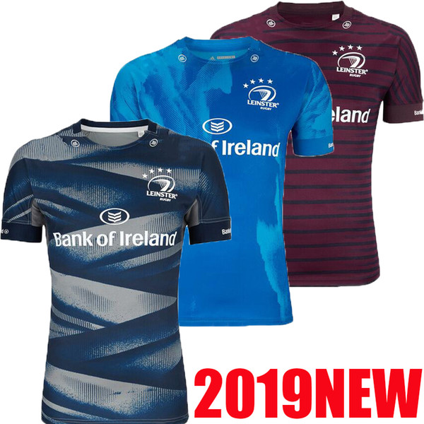 top popular Top quality 2019 Leinster rugby jersey 2019 2020 home away EUROPEAN ALTERNATE best quality LEINSTER irish rugby club shirt size S-3XL 2019