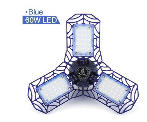 60 Вт 72LEDs синий корпус
