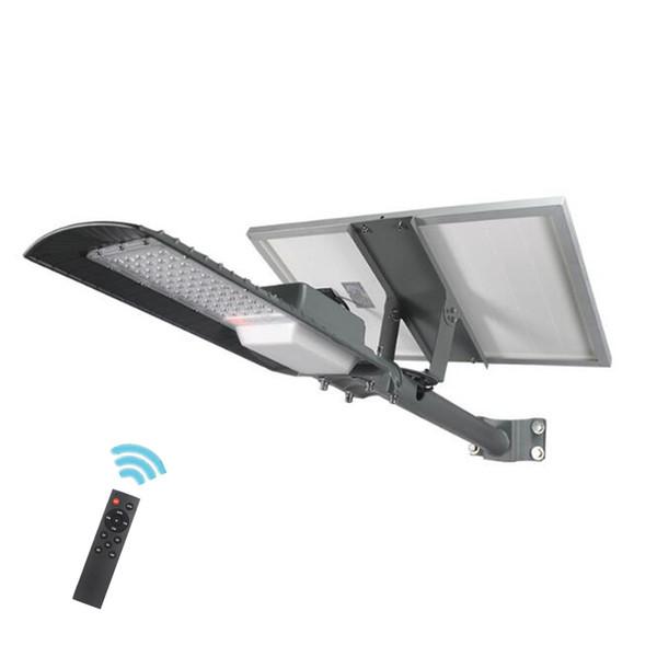 60 Watt / 90 Watt / 120 Watt LED Solarstraßenlaterne Solarmodul Straßenlaterne Dimmen Timing Wasserdicht IP65 Für Hofgarten Lampe mit Fernbedienung