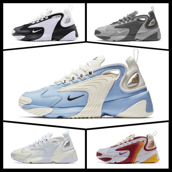 Mens Увеличить 2K кроссовок для мужчин женщин спортивных кроссовок королевского синий черный белый reace Красных Удобные наружные тренеры 36-45