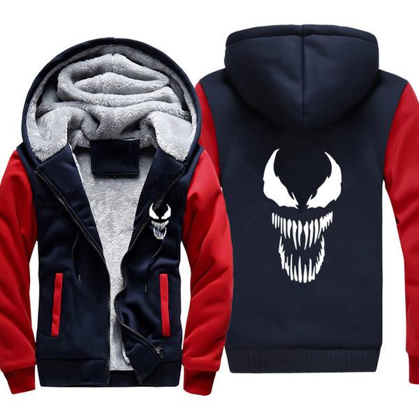 Venom Dicke Männliche Großhandel Mode Parkas Kleidung Lässig Mäntel Herren Mit Lange Dünne Kapuze Winterjacke Warme Von Marke Männer Nnwy0m8Ov