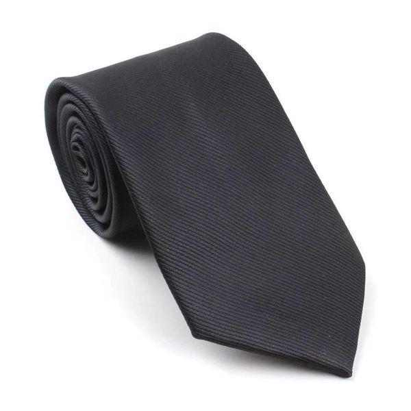 Men's Pure Colour Necktie Suit Business 8cm Professional Marriage Groom Student Red Dark Blue Black Necktie Polyester Silk
