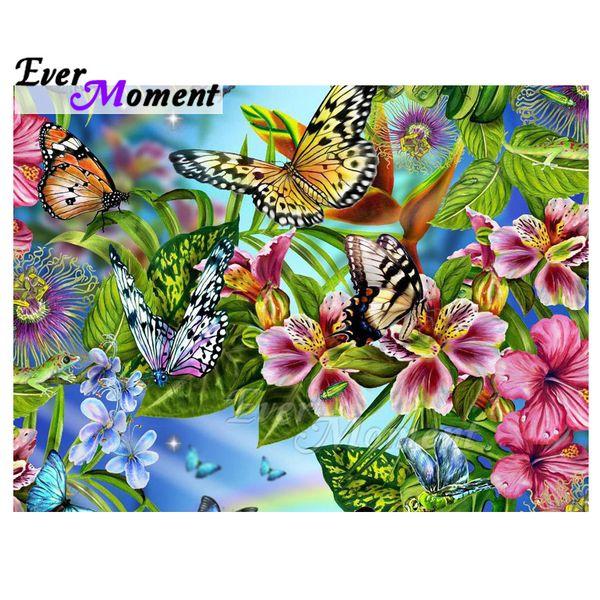 Toptan Elmas Boyama 5D DIY Mozaik Kelebek Tam Kare Matkap Resim Taklidi Elmas Nakış El Yapımı ASF1546