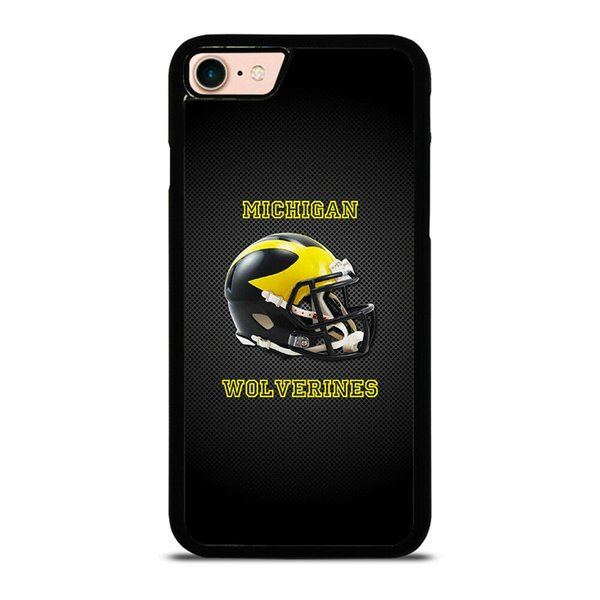 detailed look 67bde a9638 Michigan Football Logo Phone Case For Iphone 5s 6s 6plus 6splus 7 7plus 8 X  Samsung Galaxy S6 S6ep S7 S7ep S8 S9 Ballistic Cell Phone Cases Camo Cell  ...