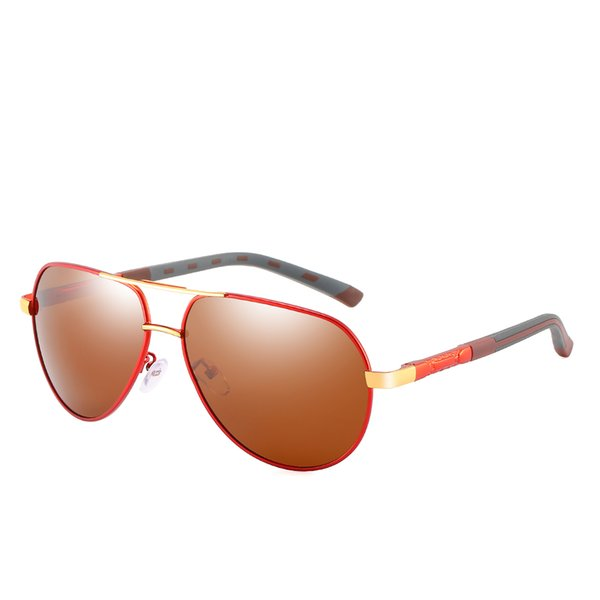 Top Men's and women's brand designer sunglasses men's outdoor fishing polarized sunglasses men's and women's drivers polarized sunglasses