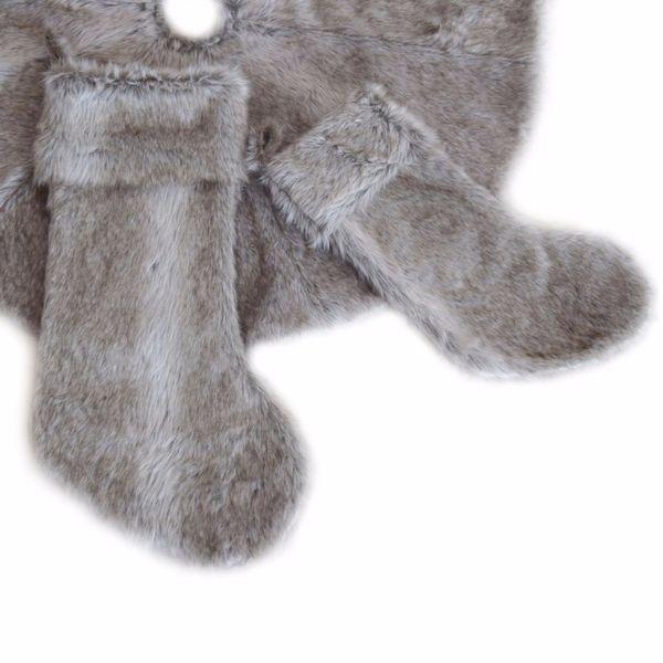 Free Shipping Extra Big Socks Luxurious Faux Fur Socks Fashion Decoration Christmas Stocking