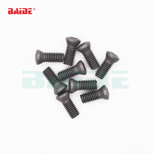 top popular M1.6 M1.8 m2 m2.2 M2.5 M3 M3.5 M4 M5 M6 Grade 12.9 Insert Torx Screw Replaces Carbide Inserts CNC Accessories Lathe TooL 2021
