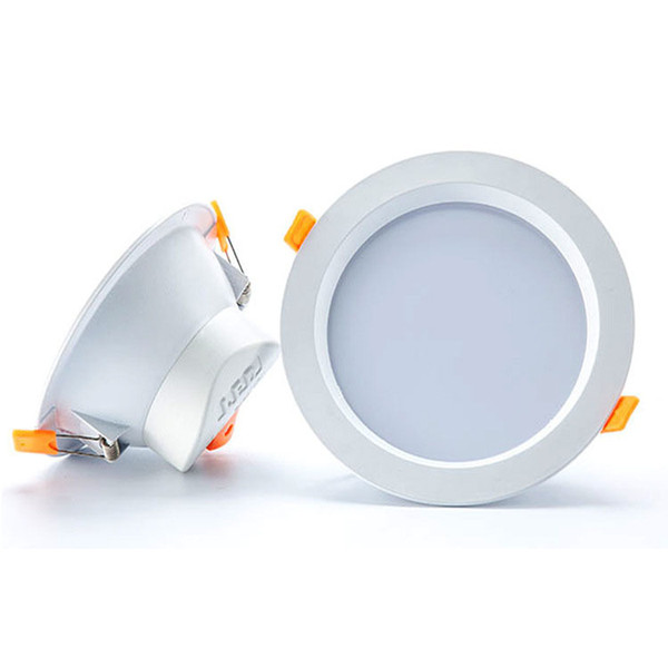 Recessed LED Down lights Lighting LED Ceiling Downlights Dimmable 7W 9W 12W 15W 18W SMD 5630 LED downlight light Warm Nature Cool White
