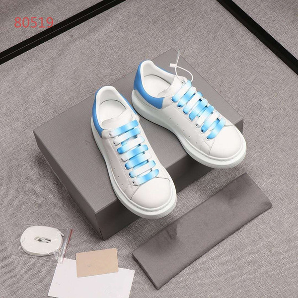 Top quality men new stan shoes women fashion smith sneakers Casual shoes leather sport classic flats 2019 Size 35-44 A1