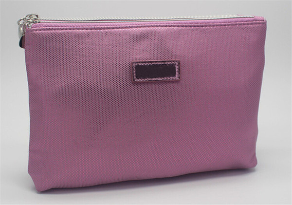 Paris Glitter Double-Layer Polyester Cosmetic Bag Wallet Cell Phone Pouches Casual Fashion For Girl Women 23cm*5.5cm*15cm Makeup Bags