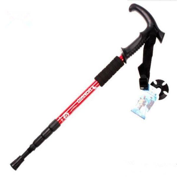 Wholesale- POINT BREAK Pioneer Brave Heart Carbon Super Light Speed Lock Cane Alpenstock Feeding Rod PackageTP001
