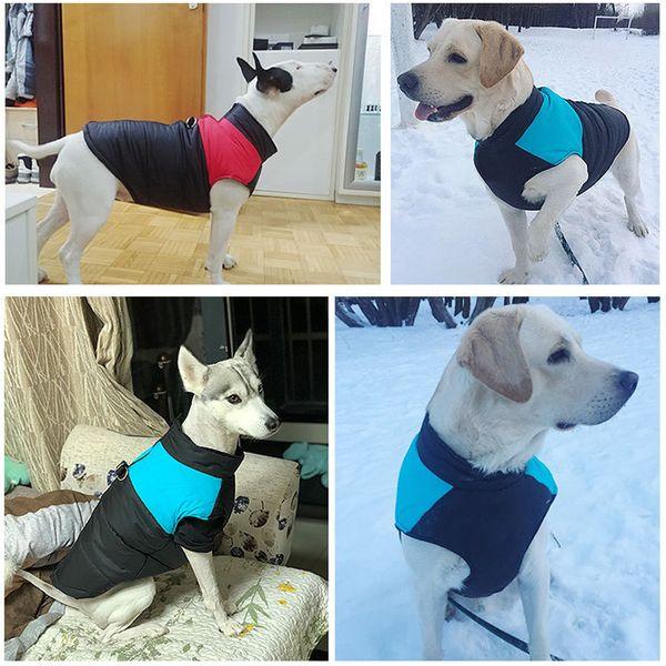 New Pet Jacket Large Dogs Cozy Coat Clothes Cotton Warm Winter Pet Clothes Small Medium Labrador Outdoor Walk S-5XL Wholesale Dropshipping