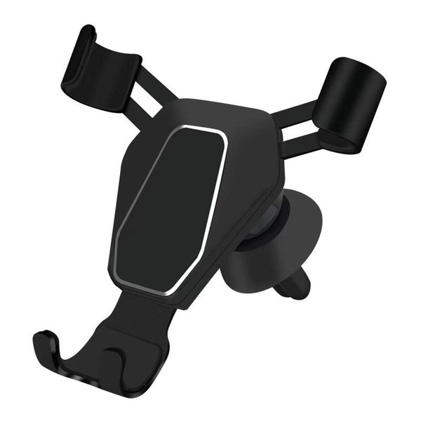 Car Gravity cell Phone KickStand Universal Air Vent Mount Clip Phone Holder for Smartphone Car Triangle Mobile Phone Holder