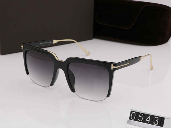 2019 Luxury New Fashion L0543 Tom Sunglasses For Man Woman Erika Eyewear ford Designer Brand for men women Sun Glasses