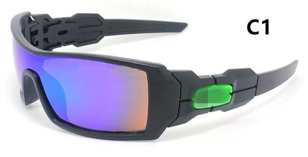 Occhiali da sole per esterni Occhiali da sole per donna Occhiali da sole per uomo Nuova moda Colorato Popolare Vento Ciclismo Specchio occhiali da sole sportivi 36986 libera la nave