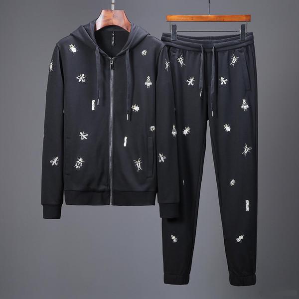 New Tracksuit Jackets Set Fashion Running Tracksuits medusa Men Sports Suit Letter printing Slim Hoodies Clothing Track Kit Sports