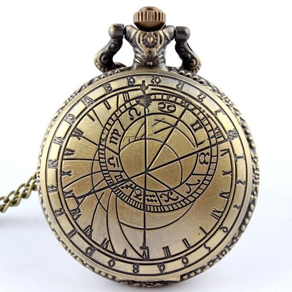 97770fd4efa3 Dr. Who Reloj de bolsillo para hombres con cadena Fob Doctor Who Reino  Unido The