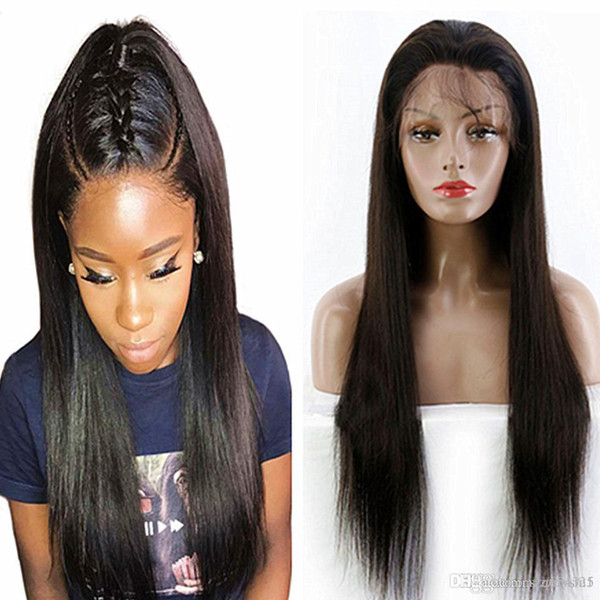 24inch Cheap Pre Plucked Full Lace Wig With
