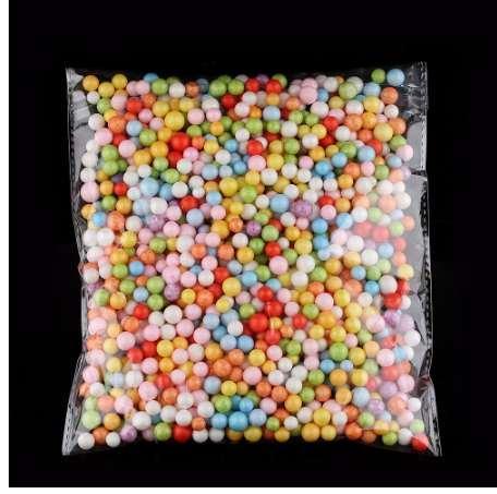 Brand New 1 Pack Styropor Polystyrol Füllstoff Schaum Perlen Farben Wholelsale Verschiedene Kugeln Handwerk Heißer Verkauf
