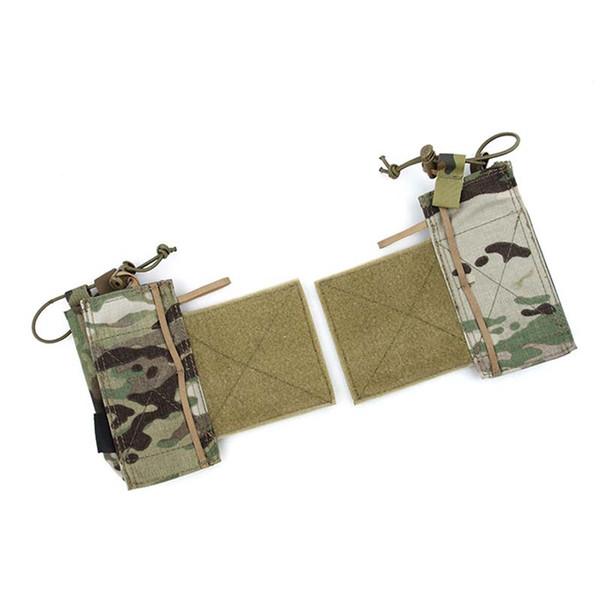 New Tactical TMC Multicam SS Radio Side malote Adesão Bolsa para Tactical Vest frete grátis