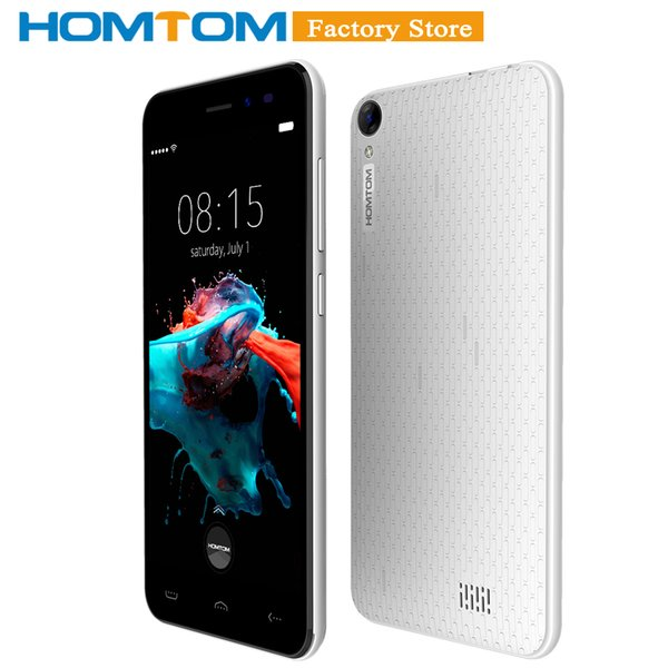 Original homtom ht16 martphone 3g wcdma android 6 0 quad core mtk6580 5 0 quot creen 1gb ram 8gb rom dual camera mobile phone