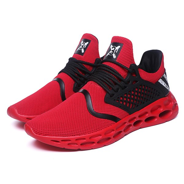 2019 high quality light running shoes for adults breathable comfortable man sneakers outdoor trekking walking running shoes