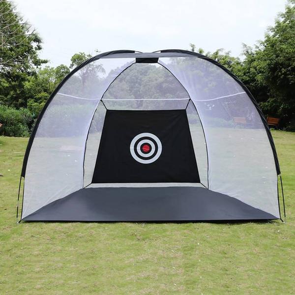 2/3 m de Gaiola de Golfe Prática de Treinamento de Rede Indoor Esporte Ao Ar Livre Equipamento de Exercício de Golfe Jardim Instrutor