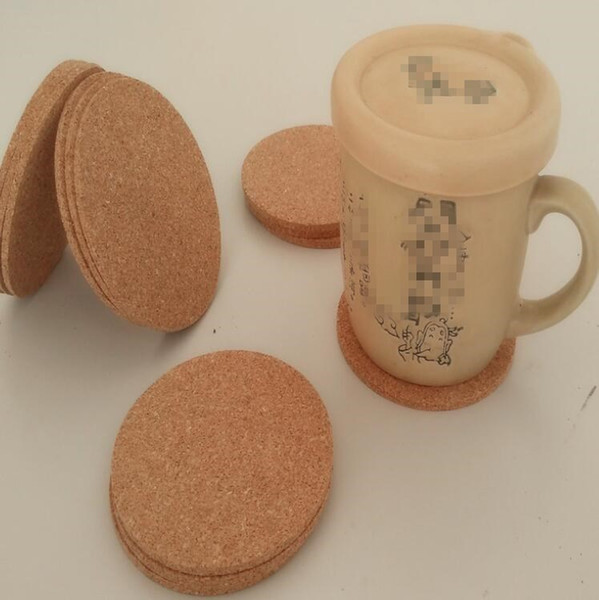 Bottiglia d'acqua pad sughero circolazione ambientale Usa tappetini antiscivolo impermeabile Cup Pad Cucina Salone Decoration WY363