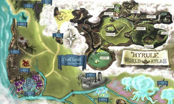 Grosshandel Die Legende Von Zelda Hyrule Map Art Silk Print Poster 24x36 Zoll 60x90 Cm Von Chuy8988 10 93 Auf De Dhgate Com Dhgate