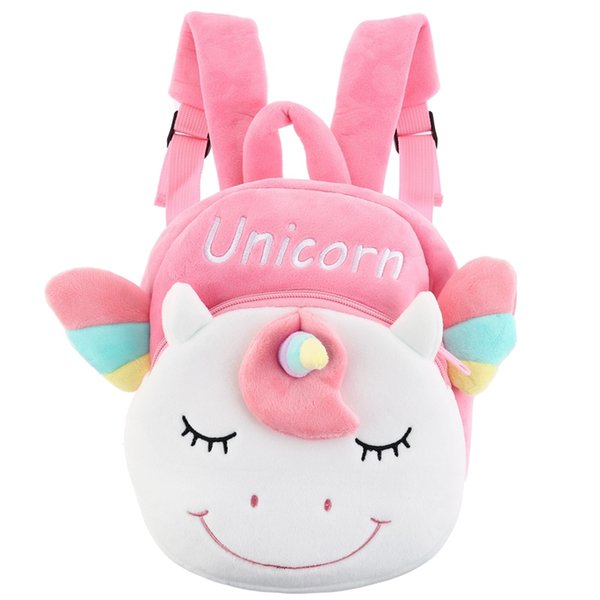 cute unicorn backpack childern cartoon school shoulder bag kids kindergarten double shoulder backpack dropship new arrival 5.0