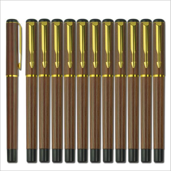 High quality brand carbon bullet ballpoint pen school office stationery luxury writing business gift ballpoint pen