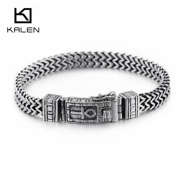 Acier Inoxydable Bracelet Bracelet Hommes Femmes Chain Link Bracelet Charm Bijoux