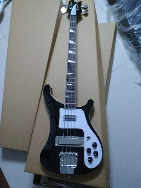 Top selling Famous brand China factory wholesale rickenbass electric bass guitar 4003 model black 4 string bass