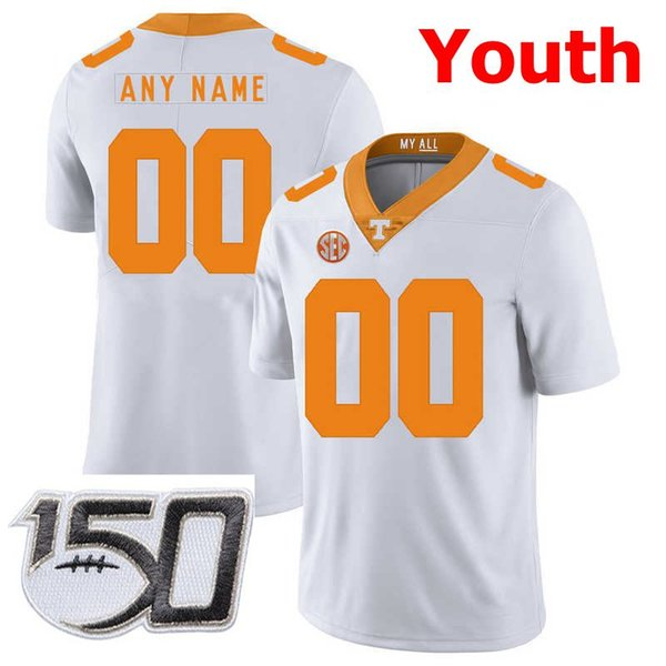 Youh White With 150th Patch