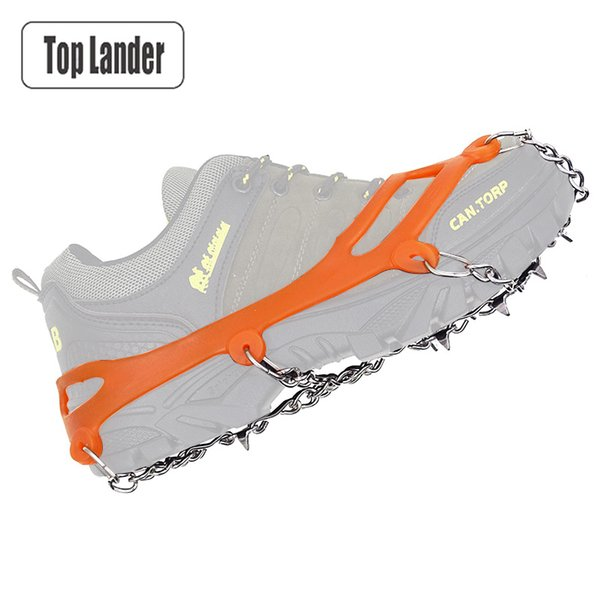 Snowshoes Crampons For Snow And Ice climbing Crampons Ice Crampon Hiking Slip Crampons Hiking Shoes Foot Over 10 Teeth Slip