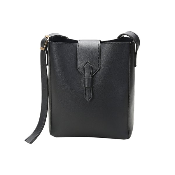 Shoulder Bag Fashion Women Bucket Bags Solid Simple Wild Female Bags bolsa feminina dropshipping 2019 hot sale sac summer bag#35