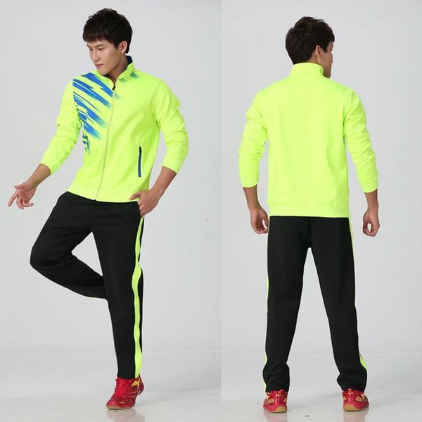 Men's green with black pants