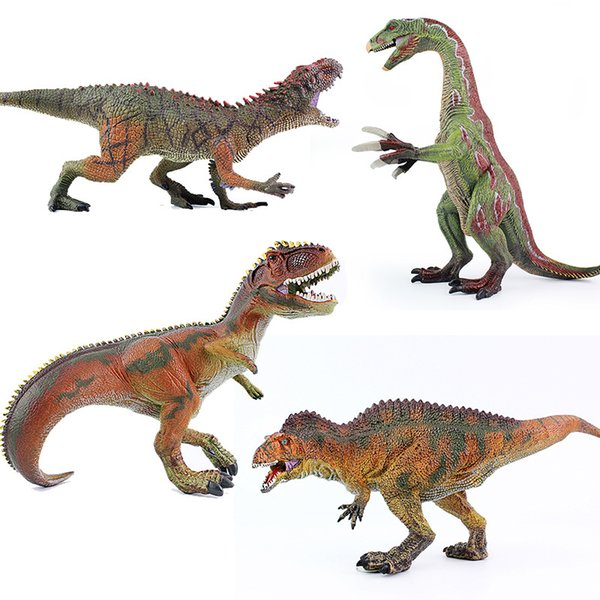 Jurassic Park dinosaur model Large size solid plastic cement dinosaur toy museums exhibits