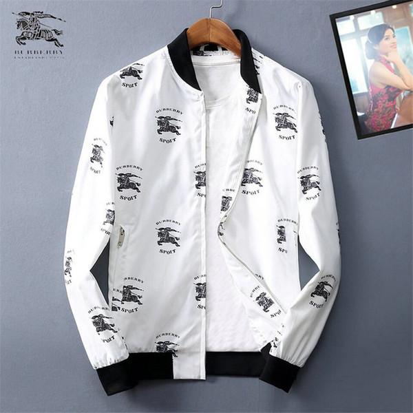 Beste Herrenbekleidung 2019 Herbst Man Jacke Jugend Jacke vollkommene Qualität Ursprünglicher Entwurf Exquisite Druck Qqwq99399