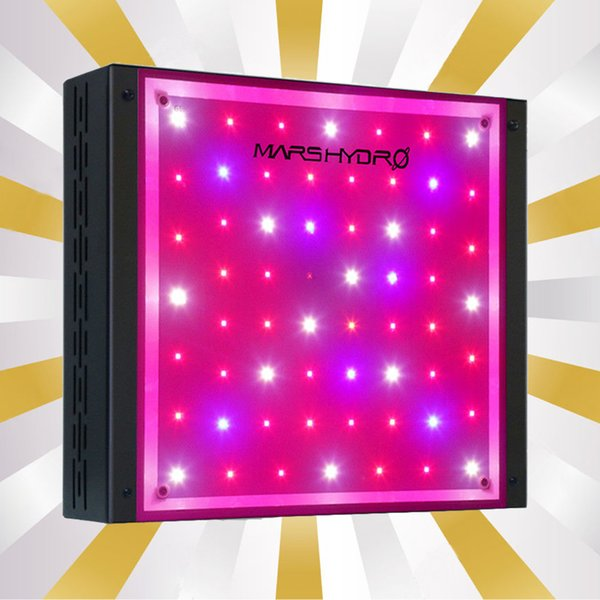 Mars Eco 300W Hydro LED Grow Light Full Spectrum IR Indoor Plant Veg Flower Hydroponics Garden Herbs Medical Worldwide Warehouse