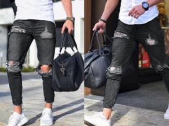 Biker Jeans 17