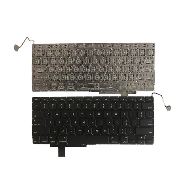 A1297 Keyboard for MacBook Pro 17 Ori US Layout Mid 2009 - Early 2011 Replacement Part black